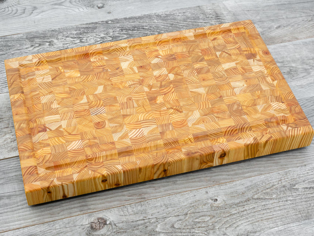 Random design large carvers board