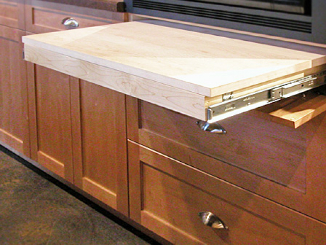 Pull Out Work Surface