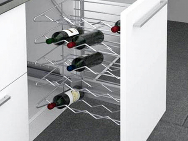 Wine Storage Pull Out