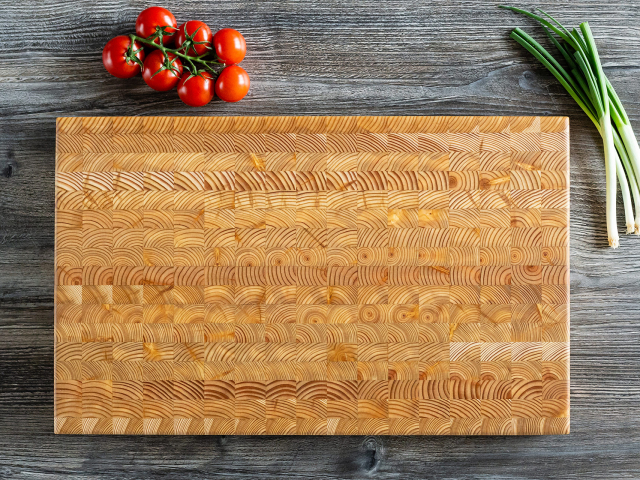 Large end-grain cutting board
